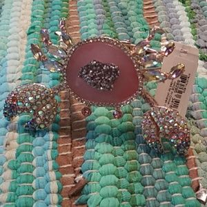 Betsey Johnson 🦀 bracelet nwt